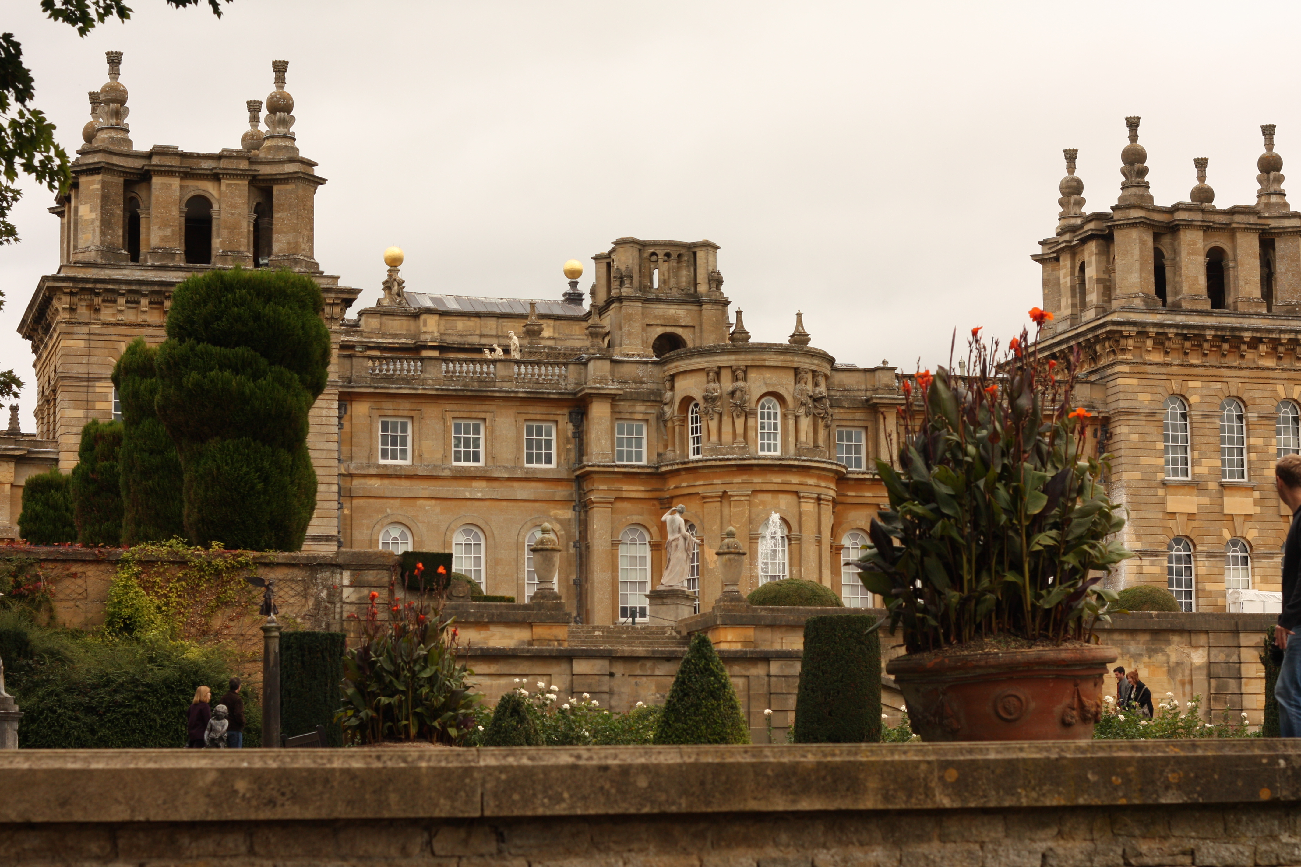 And Blenheim Palace Was