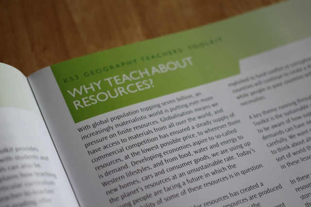 KS3 Geographical Association Teachers toolkit